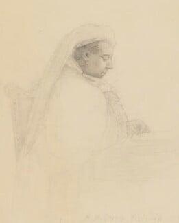 Queen Victoria, by Adolphe De Bathe - NPG 4042