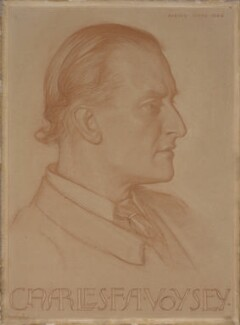 Charles Francis Annesley Voysey, by Harold Speed, 1896 -NPG 4116 - © National Portrait Gallery, London