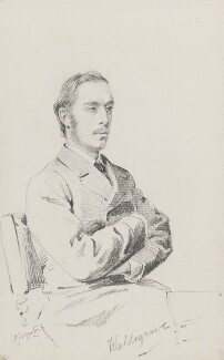 William Frederick Waldegrave, 9th Earl Waldegrave, by Frederick Sargent - NPG 1834(gg)