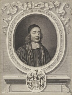 John Wallis, by David Loggan - NPG 639