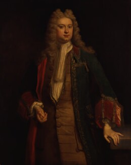 Unknown man, formerly known as Horatio Walpole, 1st Baron Walpole of Wolterton, by Unknown artist, circa 1695-1720 - NPG 1535 - © National Portrait Gallery, London
