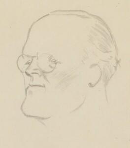 Sir Hugh Walpole, by Sir David Low - NPG 4529(377)