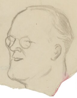 Sir Hugh Walpole, by Sir David Low - NPG 4529(378)