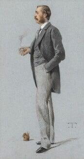 Thomas de Grey, 6th Baron Walsingham, by Théobald Chartran ('T'), published in Vanity Fair 9 September 1882 - NPG 4636 - © National Portrait Gallery, London