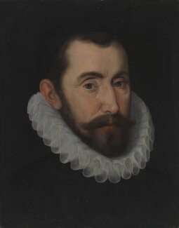 Sir Francis Walsingham, by Unknown artist, circa 1585 - NPG 1704 - © National Portrait Gallery, London