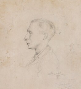 Sir William Turner Walton, by Rex Whistler - NPG 4640