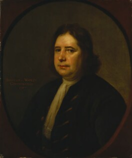 Humphrey Wanley, by Thomas Hill - NPG 579