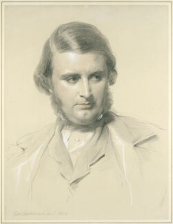 Edward Matthew Ward, by George Richmond - NPG 2072