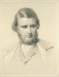 Edward Matthew Ward, by George Richmond - NPG 2072