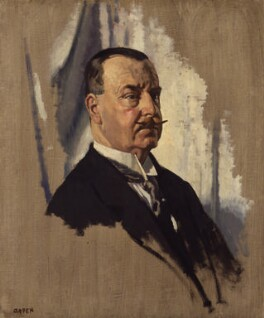 Sir Joseph George Ward, 1st Bt, by Sir William Orpen - NPG 2640
