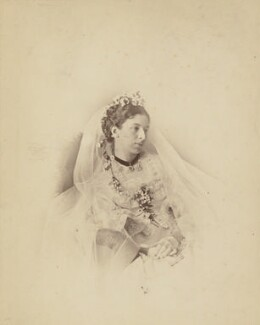 Mary Augusta Ward (née Arnold), by Lewis Carroll (Charles Lutwidge Dodgson), 1872 - NPG P69 - © National Portrait Gallery, London