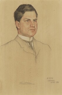 Edward R. Warren, by William Strang - NPG 2927a