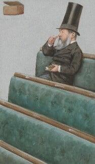 Charles Nicholas Warton, by Carlo Pellegrini - NPG 3271