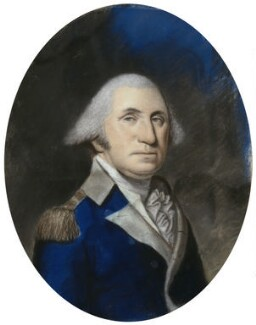 George Washington, by Ellen Sharples, after  James Sharples, 1796-1797 - NPG 2903 - © National Portrait Gallery, London