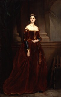 Louisa Anne Beresford, by Sir Francis Grant - NPG 3176