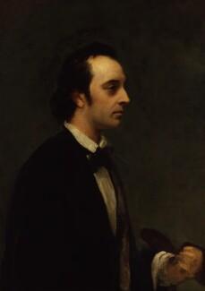 George Frederic Watts, by Henry Wyndham Phillips, circa 1850 - NPG 1378 - © National Portrait Gallery, London