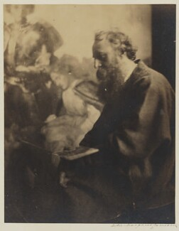 George Frederic Watts, by Julia Margaret Cameron, circa 1865-1869 -NPG P125 - © National Portrait Gallery, London