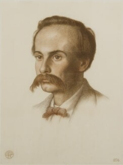 Theodore Watts-Dunton, by Dante Gabriel Rossetti, 1874 - NPG 4888 - © National Portrait Gallery, London