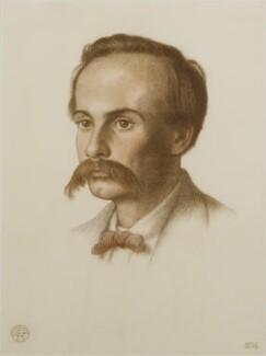 Theodore Watts-Dunton, by Dante Gabriel Rossetti, 1874 - NPG 4888 - © National Portrait Gallery, London