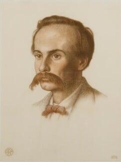 Theodore Watts-Dunton, by Dante Gabriel Rossetti - NPG 4888