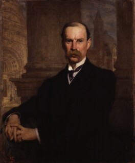 Sir Aston Webb, by Solomon Joseph Solomon - NPG 2489