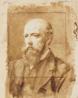 Philip Speakman Webb, by Charles Fairfax Murray, 1873 - NPG 4310 - © National Portrait Gallery, London