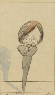 H.G. Wells, by Claud Lovat Fraser, 1910s? - NPG 5071 - © National Portrait Gallery, London