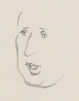 Sir Arnold Wesker, by Sir David Low - NPG 4529(387)