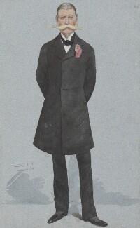 Sir Algernon Edward West, by Sir Leslie Ward - NPG 2986