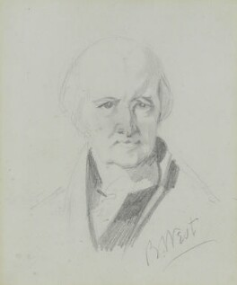 Benjamin West, by Charles Hutton Lear, circa 1845 - NPG 1456(26) - © National Portrait Gallery, London