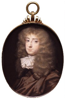 Thomas Thynne, 1st Viscount Weymouth, by Richard Gibson, after  Sir Peter Lely, early 1670s, based on a work from early 1670s - NPG 6279 - © National Portrait Gallery, London