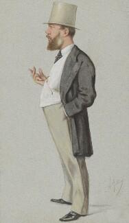 Edward Montagu Stuart Granville Montagu-Stuart-Wortley-Mackenzie, 1st Earl of Wharncliffe, by Carlo Pellegrini - NPG 4699