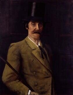 James Abbott McNeill Whistler, by Walter Greaves,  - NPG 4497 - © National Portrait Gallery, London