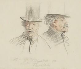 James Abbott McNeill Whistler, by Sir Robert Ponsonby Staples, Bt, 1901 - NPG 2188 - © National Portrait Gallery, London