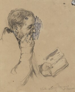 drawings of artists by charles west cope set national portrait