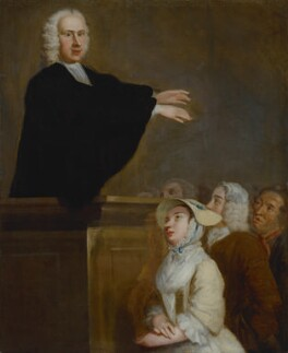 George Whitefield, by John Wollaston - NPG 131