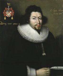 Bulstrode Whitelocke, by Unknown artist, 1634 - NPG 4499 - © National Portrait Gallery, London