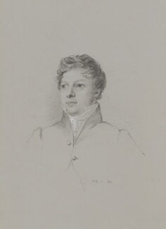 Jeremiah Holmes Wiffen, by William Brockedon - NPG 2515(18)