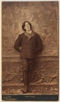 Oscar Wilde, by Napoleon Sarony, 1882 - NPG P24 - © National Portrait Gallery, London