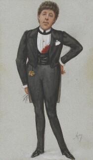 Oscar Wilde, by Carlo Pellegrini, published in Vanity Fair 24 May 1884 - NPG 3653 - © National Portrait Gallery, London