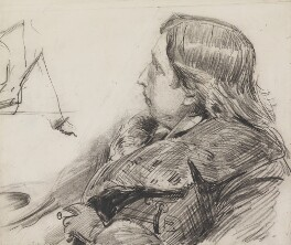 Oscar Wilde, by Sydney Prior Hall - NPG 2265