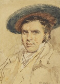 Sir David Wilkie, by William Henry Hunt - NPG 2770