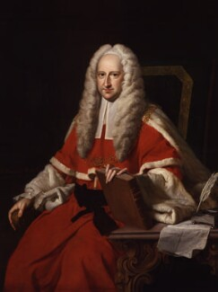 Sir John Willes, by Thomas Hudson - NPG 484