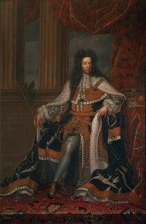 King William III, after Jan Henrik Brandon, based on a work of 1697 - NPG 4153 - © National Portrait Gallery, London