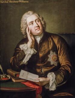 Sir Charles Hanbury Williams, attributed to John Giles Eccardt, circa 1746 - NPG 383 - © National Portrait Gallery, London