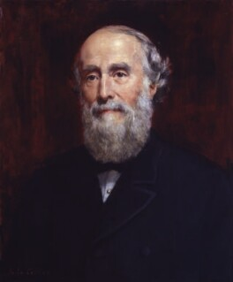 Sir George Williams, reduced replica by John Collier, late 19th century, based on a work of 1887 - NPG 2140 - © National Portrait Gallery, London