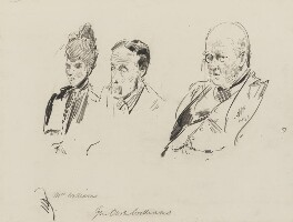 Owen Lewis Cope Williams and others, by Sydney Prior Hall - NPG 2291