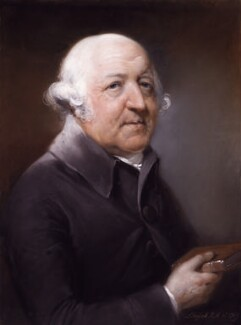 Francis Willis, by John Russell - NPG 2186