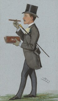 Sir John Christopher Willoughby, 5th Bt, by Sir Leslie Ward - NPG 4754