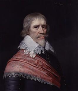 Edward Cecil, Viscount Wimbledon, by Michiel Jansz. van Miereveldt, 1631 - NPG 4514 - © National Portrait Gallery, London